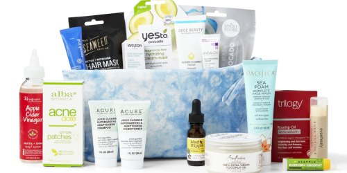 The $20 Whole Foods Limited Edition Beauty Bags Are Returning – With a Value of Over $135!