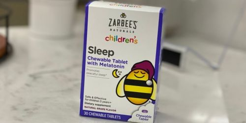 New $4/2 Zarbee's Naturals Children's Sleep Product Coupon + Target Deal Idea