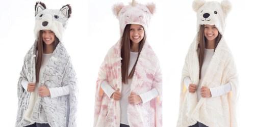 Animal Hooded Wearable Blankets Just $4.81 on SamsClub.com