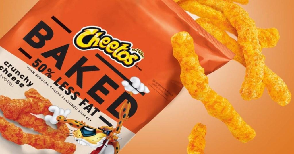 bag of baked cheetos