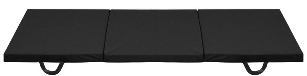 black mat for gym floor exercises
