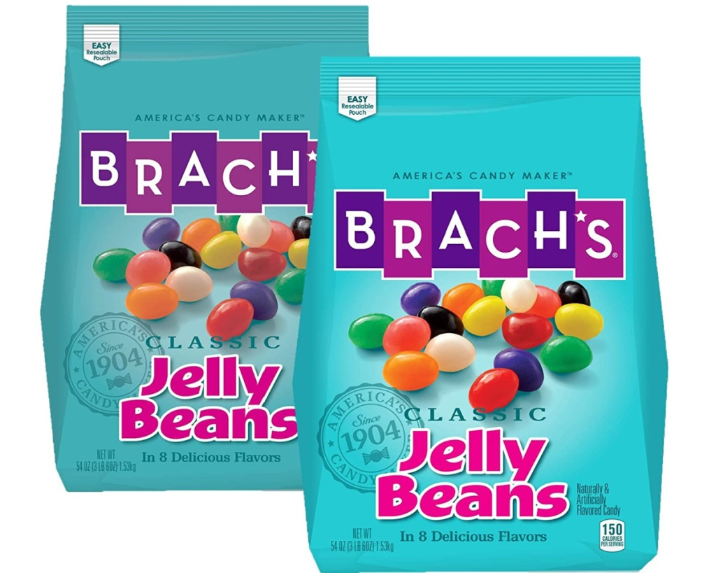 two brach's jelly beans