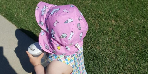 Baby & Toddler Sun Hats Only $5.97 on Amazon | Great Reviews & Adorable Styles