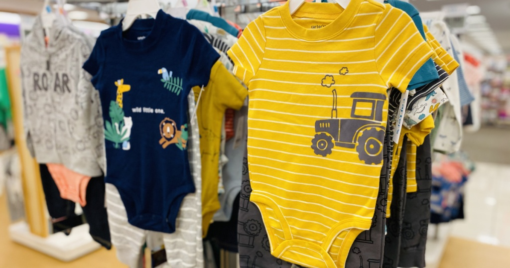 carters baby apparel in store at kohls