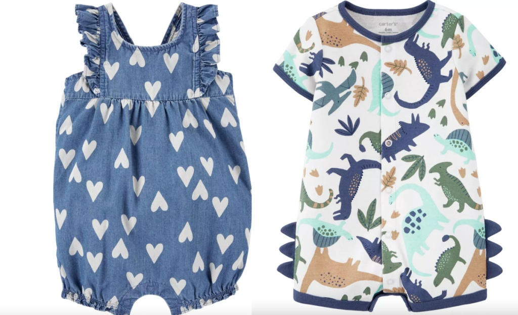 carters baby rompers for boy and girls