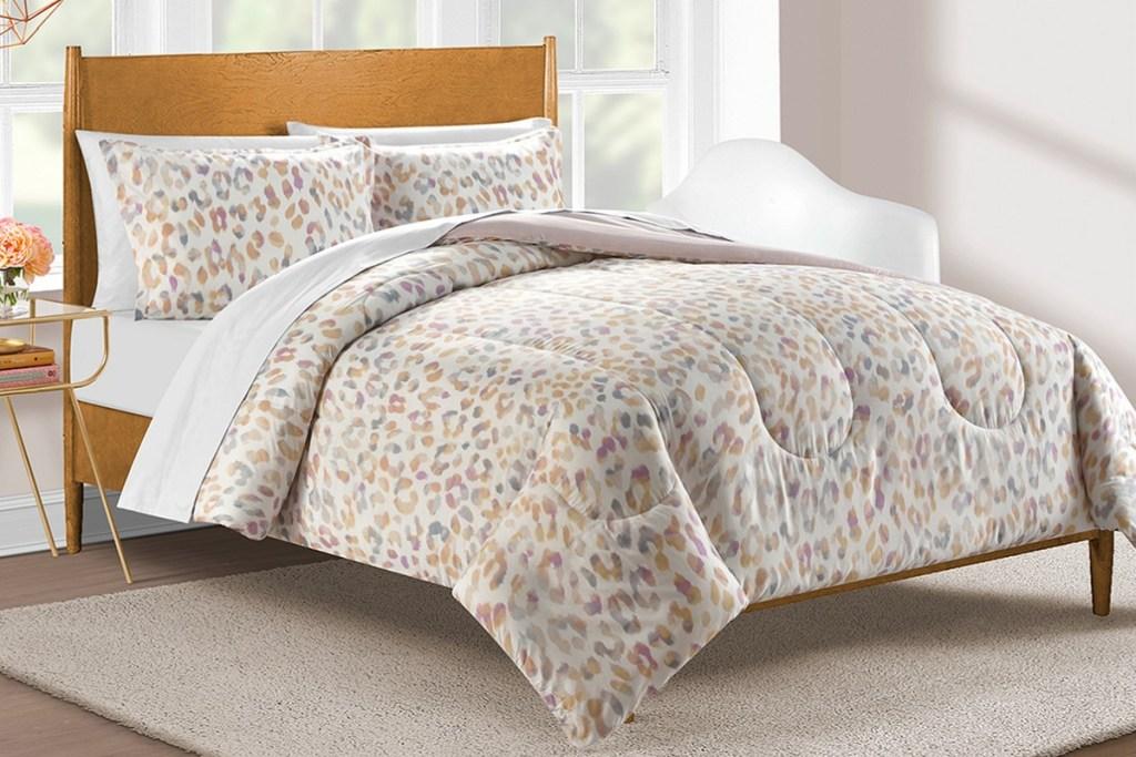 cheetah bedding set