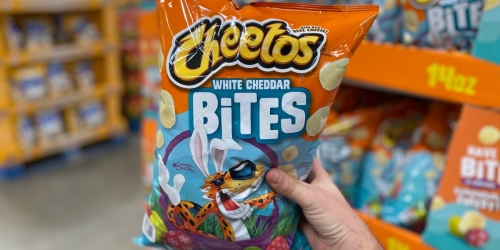 Cheetos White Cheddar Bites 14oz Bag Just $3.49 at Sam's Club