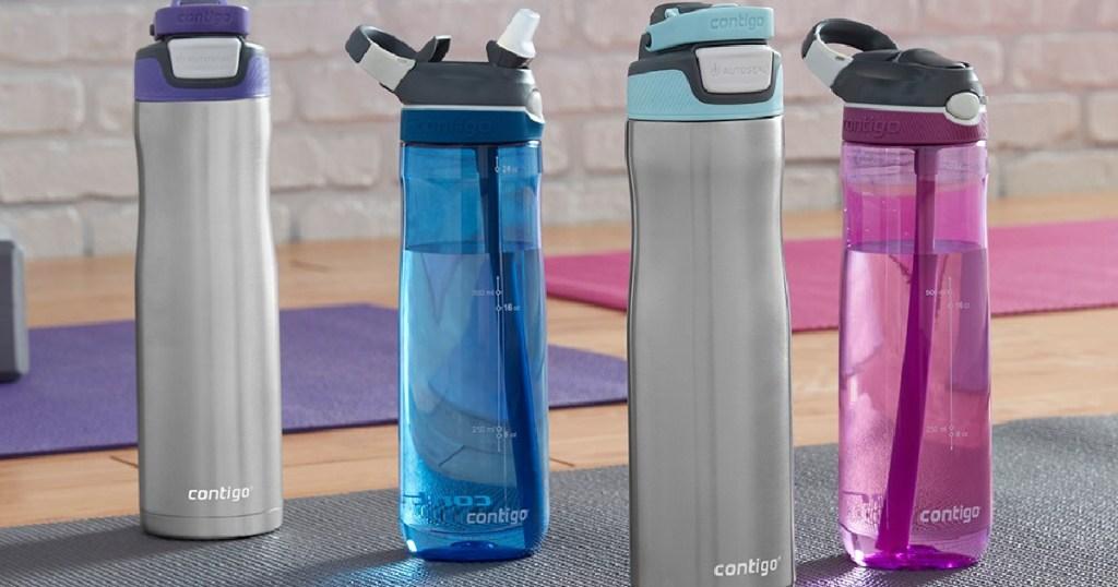 many contigo water bottles