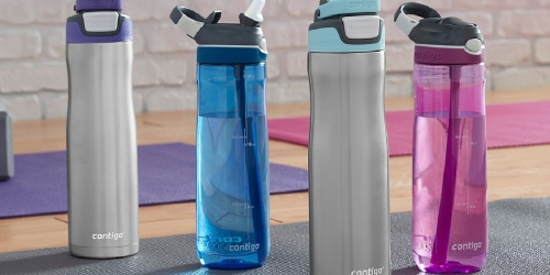 Contigo Water Bottles from $6.99 Shipped for Select Kohl's Cardholders (Regularly $23)
