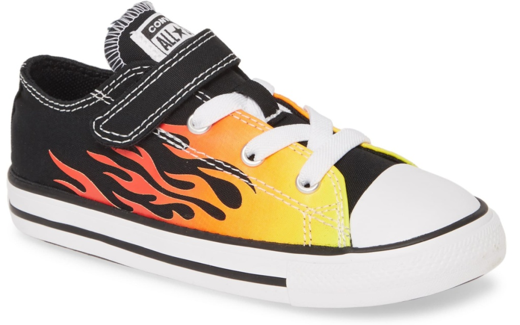 converse flame kids shoe