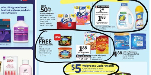 Walgreens Ad Scan for the Week of 3/7/21 – 3/13/21 (We've Circled Our Faves!)