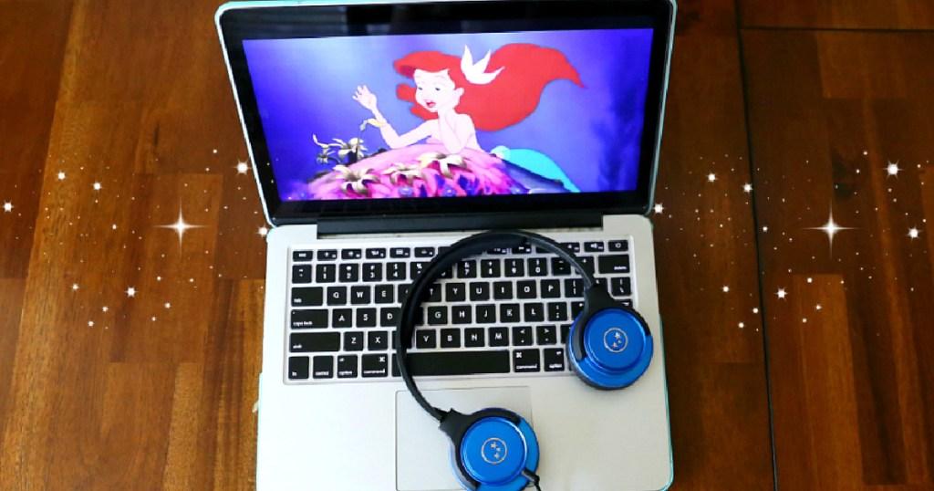 disney movies on laptop