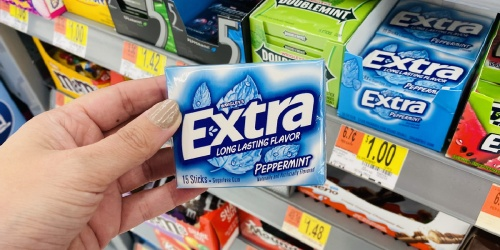 FREE Extra Gum 15-Stick Slim Pack at Walmart | Just Use Your Phone
