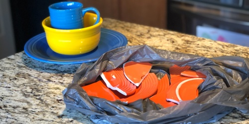 This Fiesta Dinnerware Dupe is JUST $1 Per Piece – See How They Performed in My Drop Test!