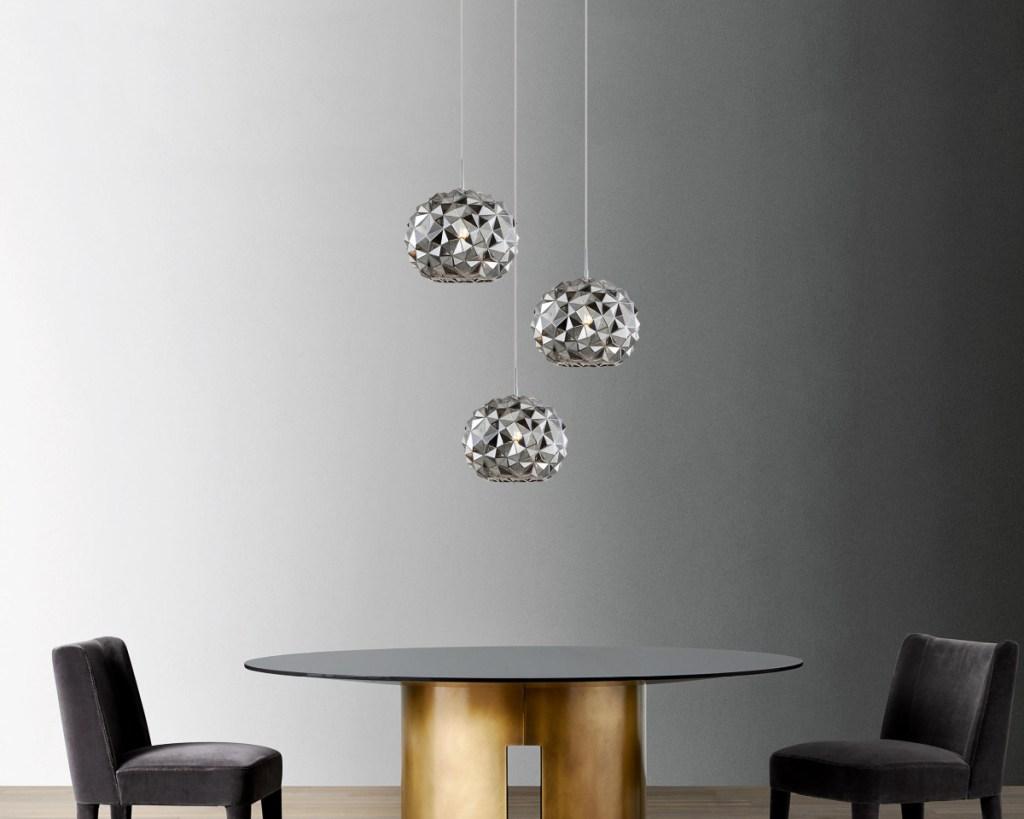 3 geo pendant lighting