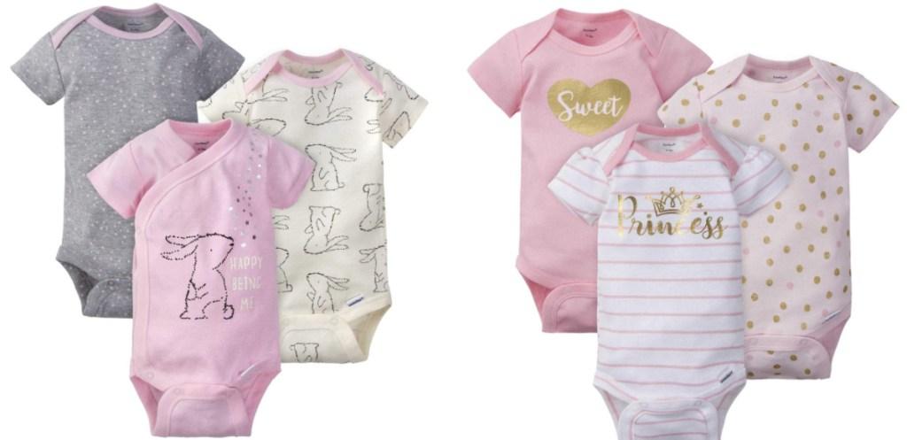 bunny and princess sleeper sets