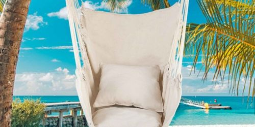 Hammock Chair Swing Only $31.99 Shipped (Regularly $65)