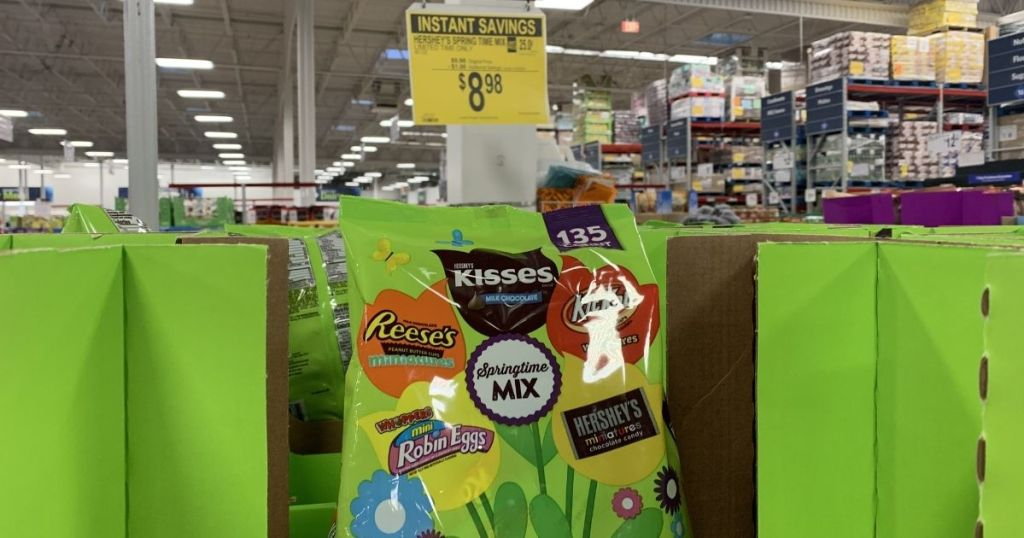 Hersheys candy mix in store