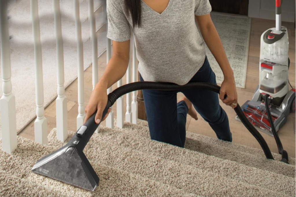 hoover pethair cleaner cleaning carpet