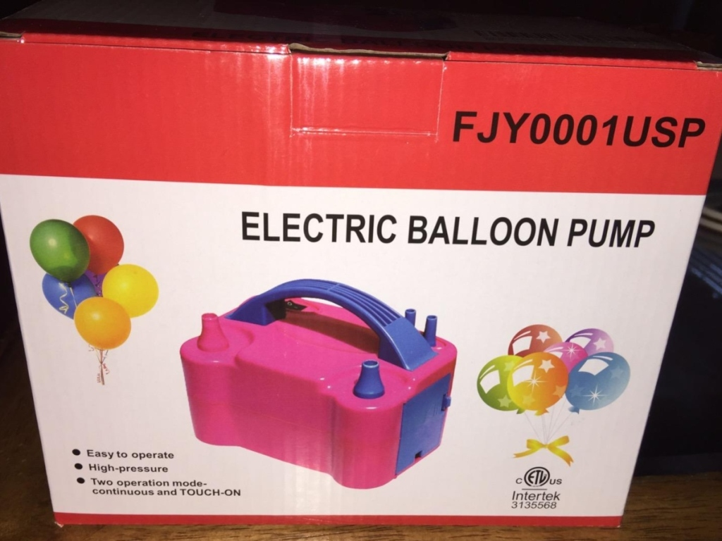 electric balloon pump in box