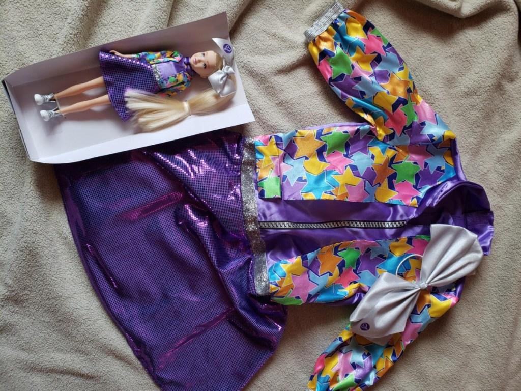jojo siwa dress and doll set