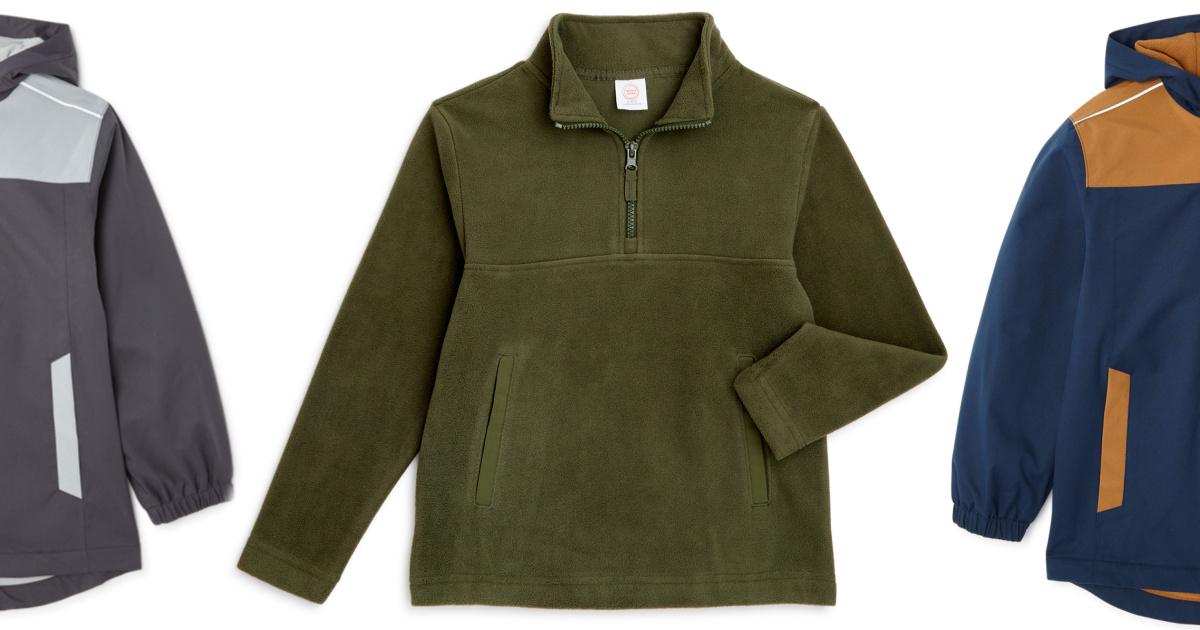 Boys Fleece Pullovers Just $3 on Walmart.com (Regularly $10+)