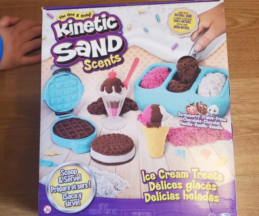 Kinetic Sand ice cream set