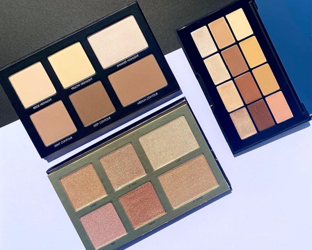 lorac beauty face palettes