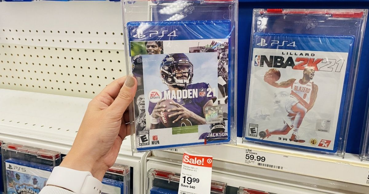 Madden NFL 21 PlayStation Game Only $17.99 on Target.com (Regularly $58)   Lowest Price Ever!