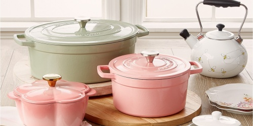 Martha Stewart Cast Iron Dutch Ovens from $41.99 Shipped on Macy's.com (Regularly $120+) | Perfect for Easter