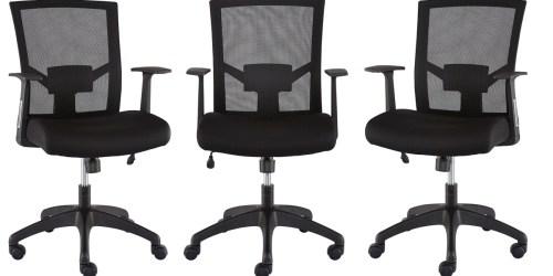 Staples Mesh Back Task Chair Only $59.99 Shipped (Regularly $130)
