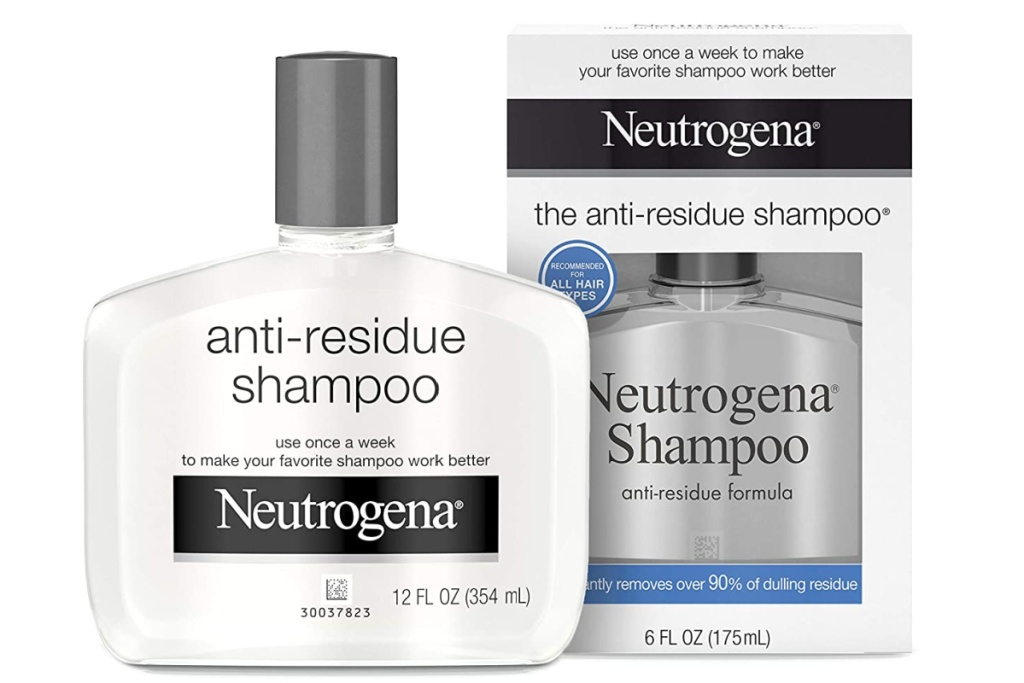 neutrogena anti residue shampoo in and out of box