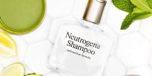 Neutrogena Anti-Residue Shampoo Just $3.71 Shipped on Amazon