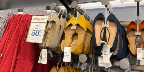 Old Navy Shoes for the Entire Family from $2 (Regularly $4+) | Sandals, Flats, Sneakers & More