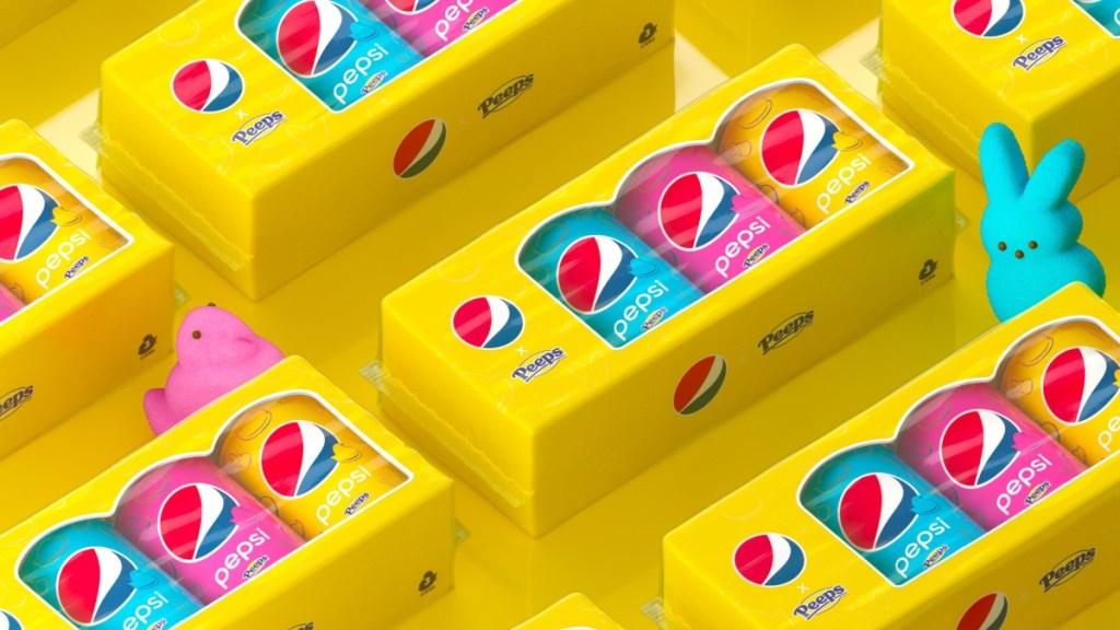 Pepsi x Peeps prize packs