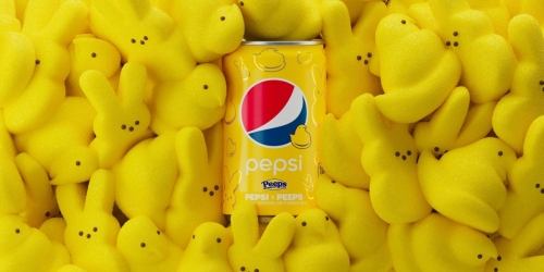 Pepsi & Peeps Are Celebrating Spring With a New Marshmallow Cola | Enter to Win!