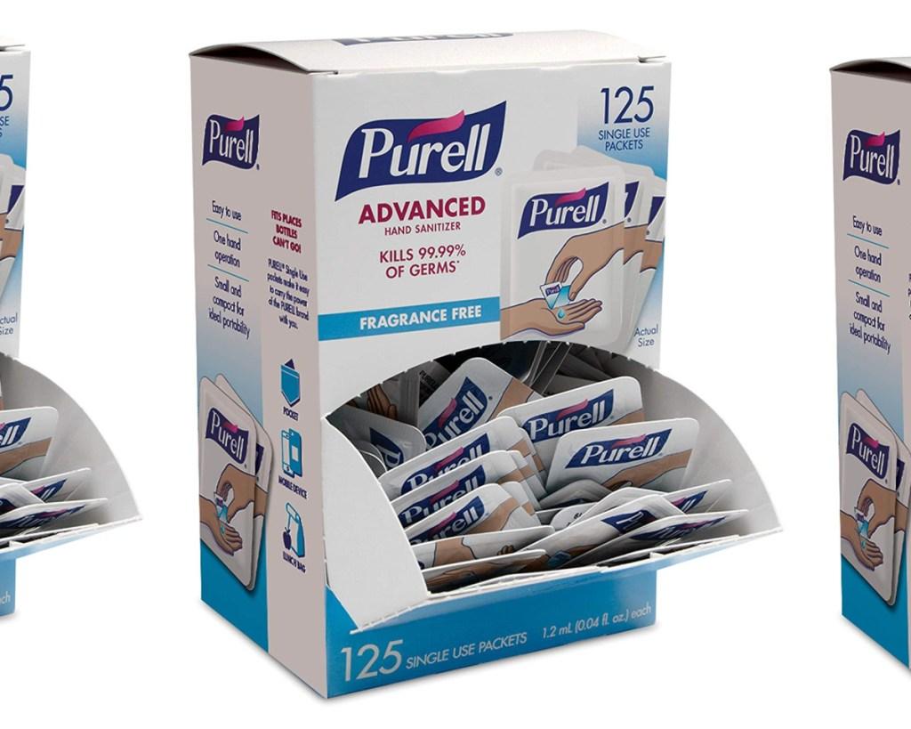 purell hand sanitizer box