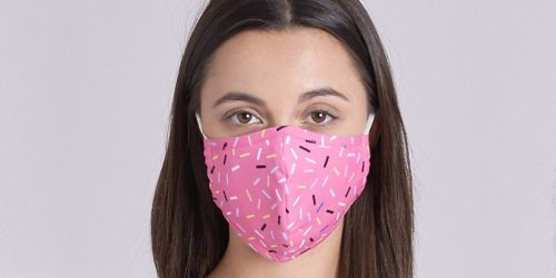 Reusable Cloth Face Masks Only $4 on Amazon | Over 25 Print Choices