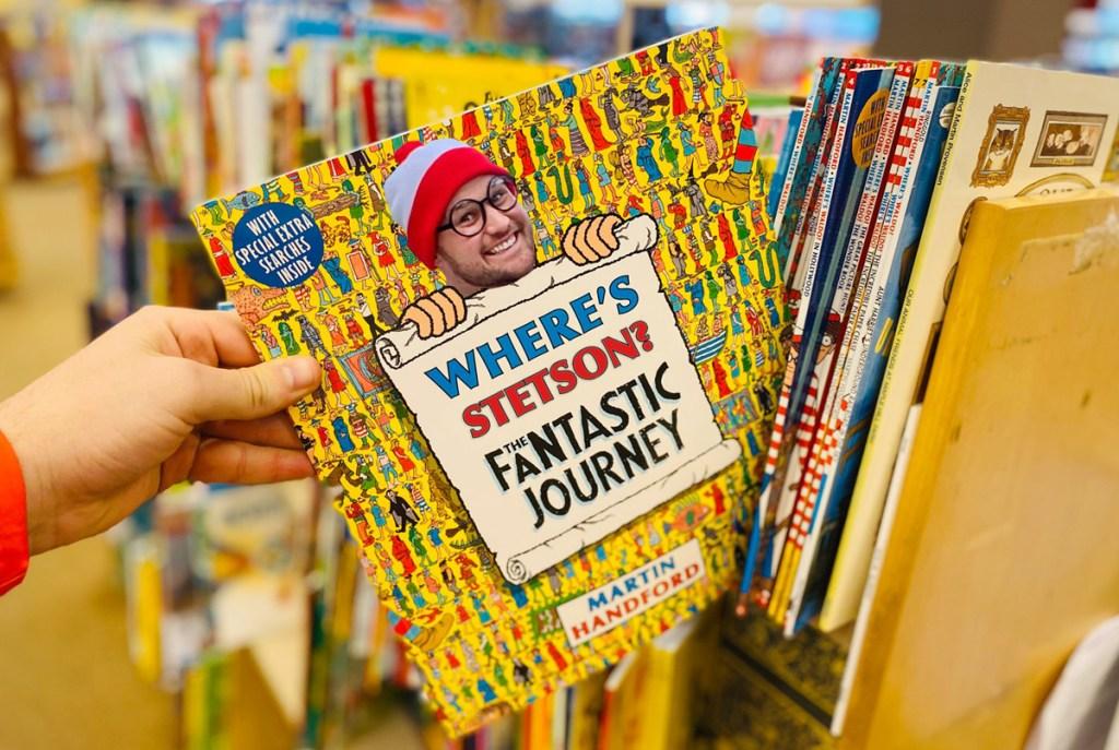 stetson waldo book cover april fools pranks