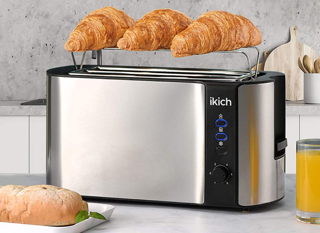 toaster with crescent rolls