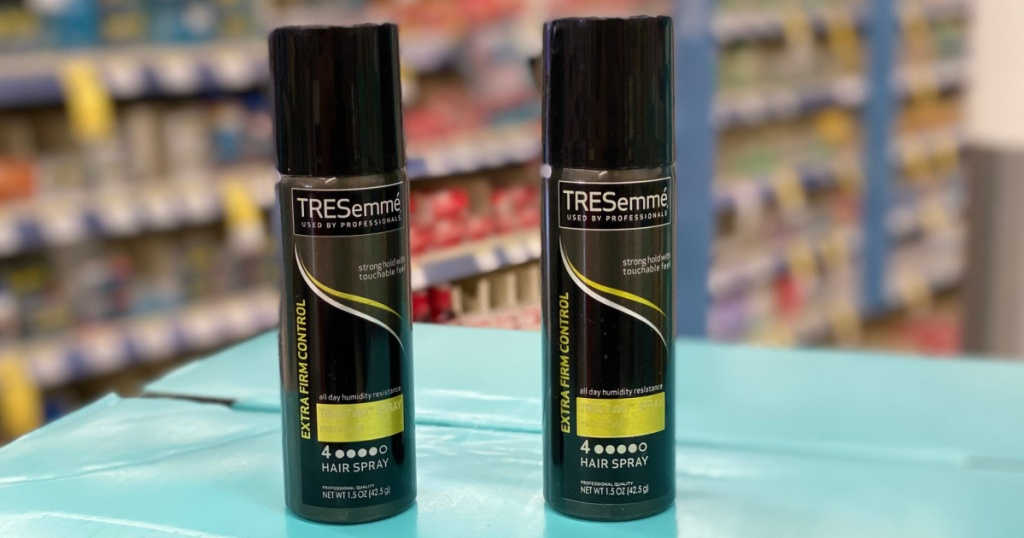 two tresemme hairspray in store