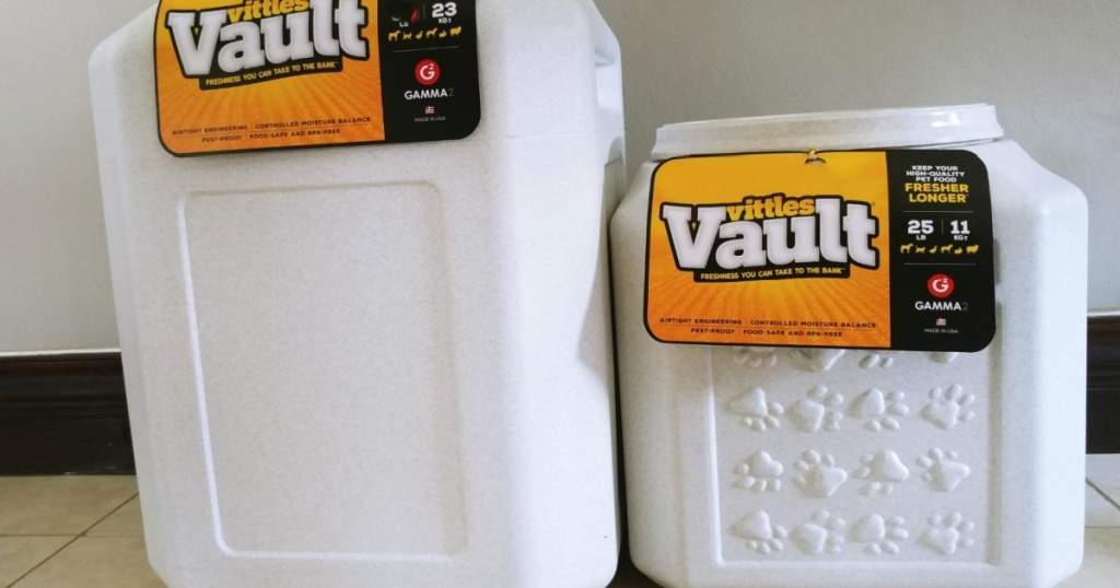 2 vittles vaut containers