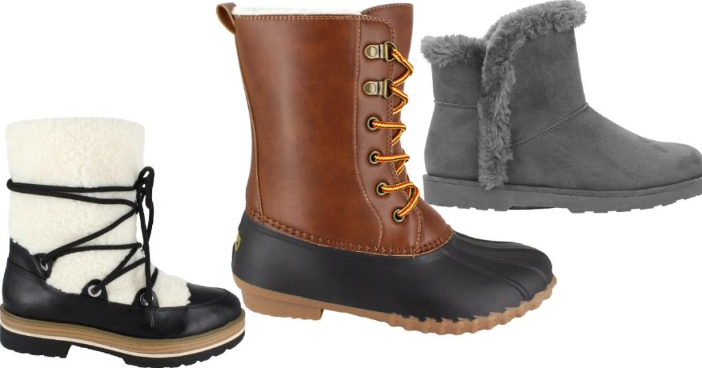 women's boots from Walmart
