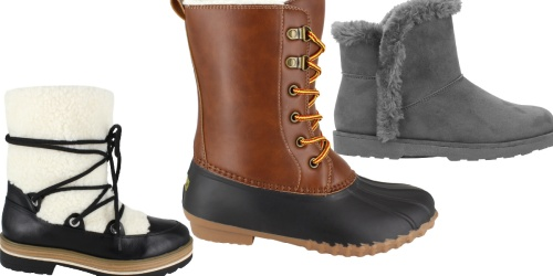 Women's Boots & Booties from $15 on Walmart.com (Regularly $45+)