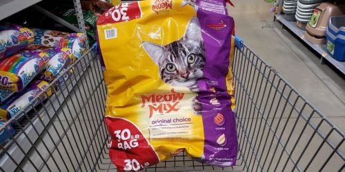 Meow Mix is Recalling Dry Cat Food Sold at Walmart Due to Salmonella Concerns
