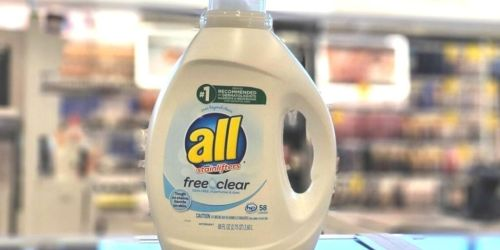 All Free & Clear 88oz Laundry Detergent Only $4.92 Shipped on Amazon (Just 8¢ Per Load!)