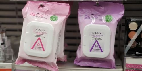 Almay Liquid or Wipes Makeup Removers Just 99¢ Each After Walgreens Rewards