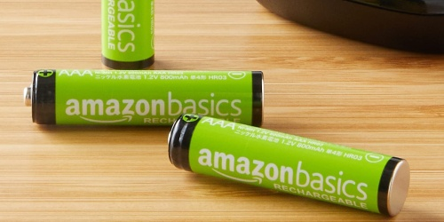 Amazon Basics AAA Rechargeable Batteries 12-Pack Just $8.79 Shipped