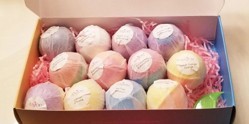 Bath Bomb 14-Piece Gift Set Only $11.99 on Amazon | Perfect Mother's Day Gift