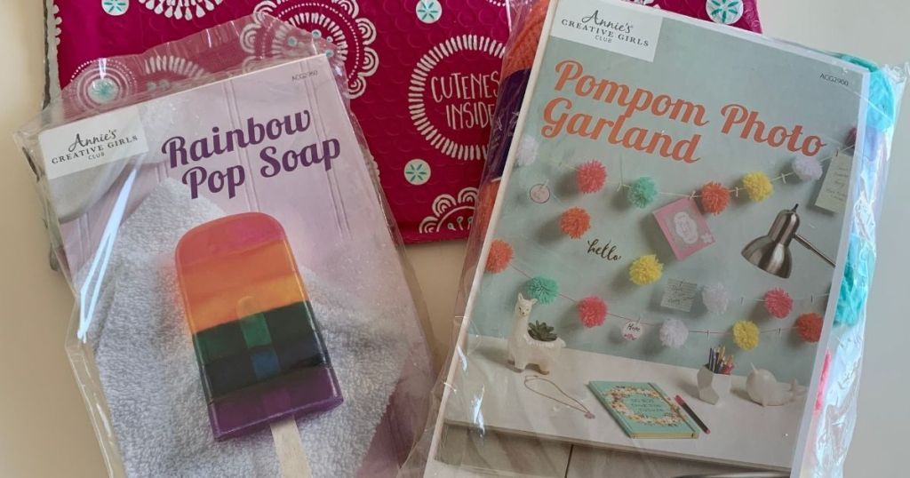 two Annie's Craft Kits